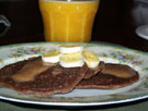 Raw food picture - Raw Pancakes !!