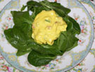 Raw food photo - Raw Eggless Salad !!