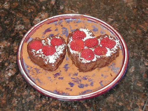 raw food photo: brownies