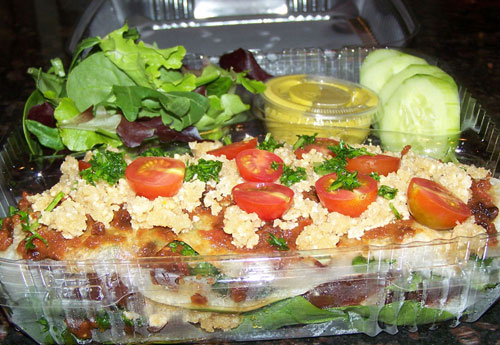 raw food photo: raw lasagna