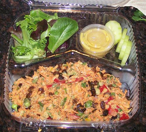 raw food photo: kaleidoscope salad