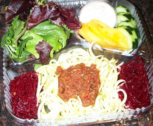 raw food photo: Pasta Marinara