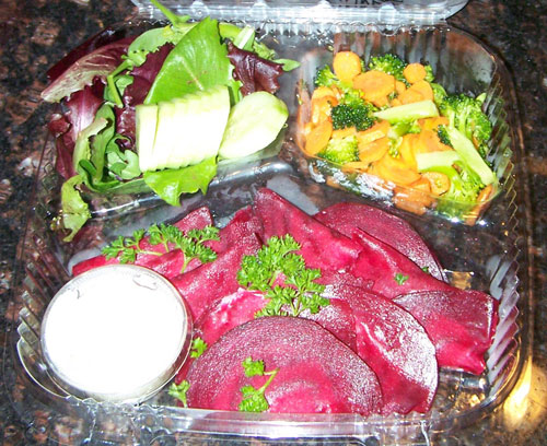 raw food photo: Beet Ravioli