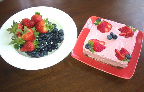 raw food photo: Raw Cheese Cake