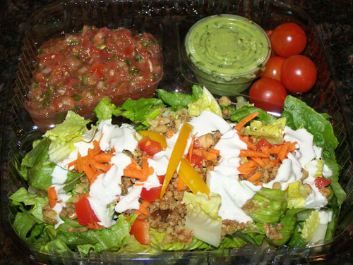 raw food photo: Taco Salad