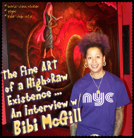 Raw Food Diet / Raw food Weight Loss Inspiration from Pure Jeevan: Bibi McGill -- Guitarist and Musical Director for Beyonce, Kale-Chip Maker, and Yogini -- Discusses Her High-Raw Lifestyle